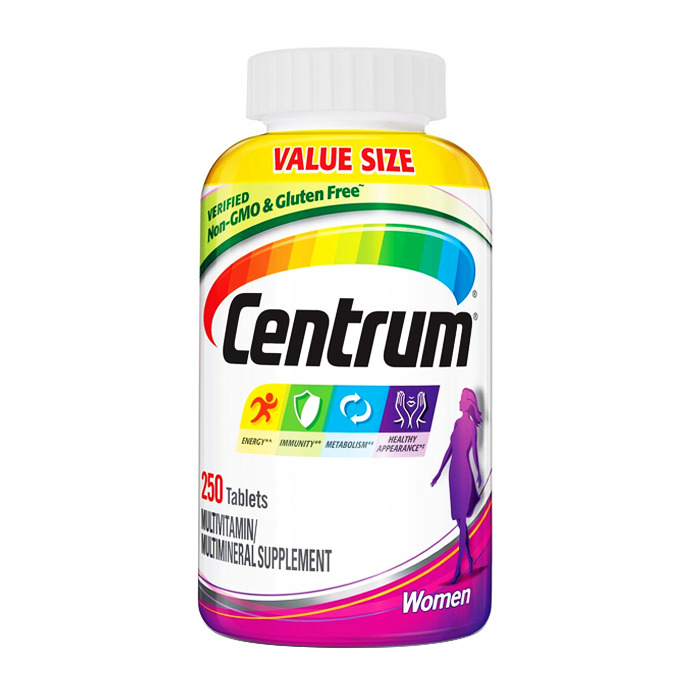 Centrum Multivitamin for Women, 250 tabs
