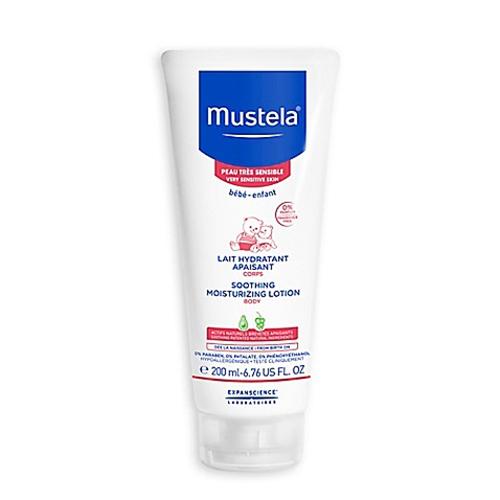 Mustela, Baby, Soothing Moisturizing Body Lotion, For Very Sensitive Skin, 6.76 fl oz.