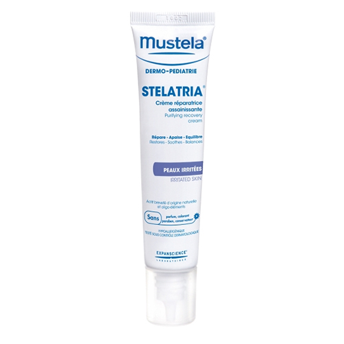 Mustela Stelatria Purifying Recovery Cream, 1.35 fl oz.