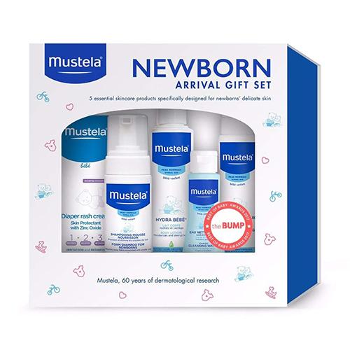 Mustela Newborn Arrival Gift Set, 5 Items