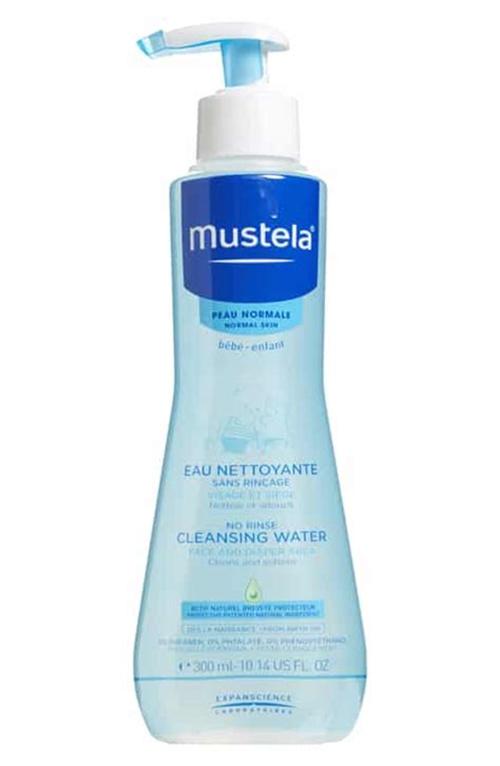 Mustela No Rinse Cleansing Water for Normal Skin, 10.14 fl oz