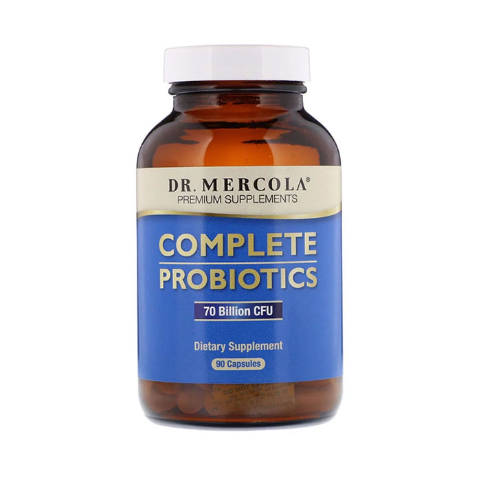 Dr.Mercola Complete Probiotics 70 Billion CFU, 90cap