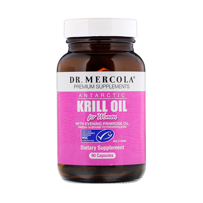 Dr.Mercola Antarctic Krill Oil for Women, 90capsules