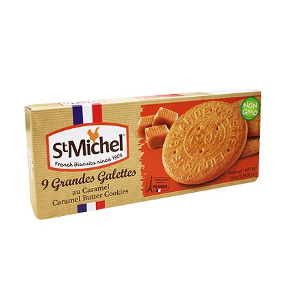 St Michel French Biscuits Caramel Butter Cookies