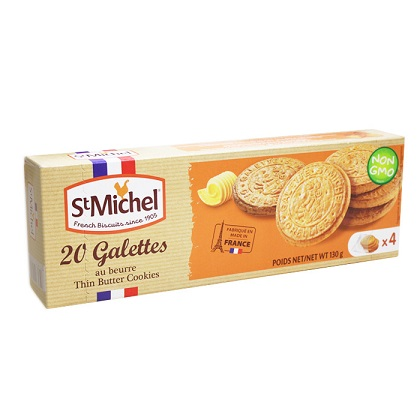 St Michel French Biscuits Thin Butter Cookies